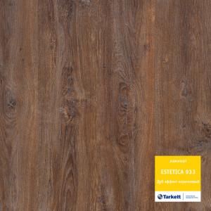 Ламинат Tarkett «Дуб Эффект коричневый» из коллекции Estetica