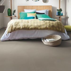 ПВХ плитка QUICK STEP «Шлифованный бетон темно-серый AMCL40141» из коллекции Ambient Click