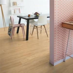 ПВХ плитка QUICK STEP «Дуб шелковый теплый натуральный RBACL 40130» из коллекции Balance Rigid Click