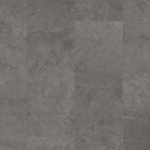 ПВХ плитка QUICK STEP «Сланец серый RAMCL 40034» из коллекции Ambient Rigid Click
